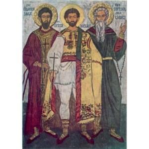 Szent Visszarion, Oprea és Szofronije, Edély védőszentjei